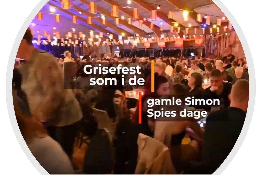 Grisefest som i de gamle Simon Spies dage