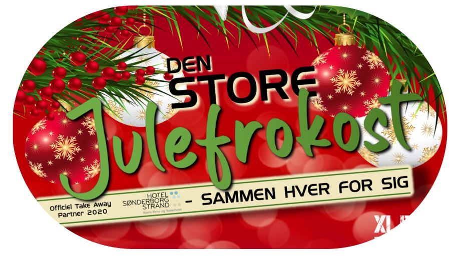 Den Store Julefrokost 2020 – Take-away buffet, drikke & live-streaming