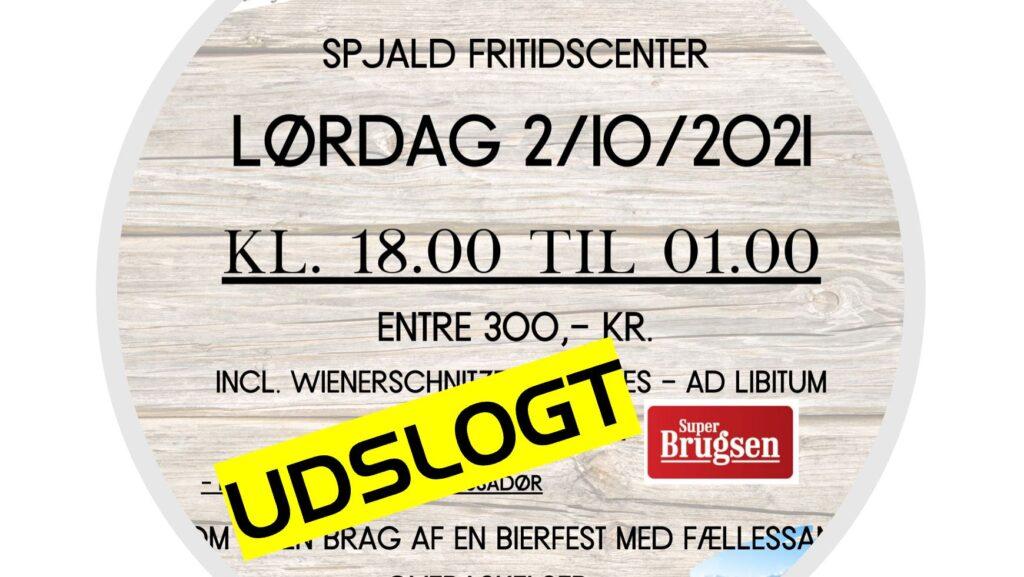 Spjald Bierfest udsolgt på rekord tid!